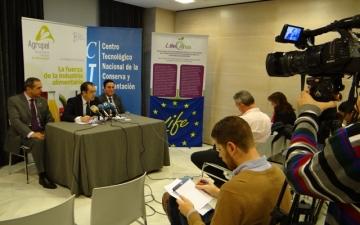 Presentación LIFECITRUS a los medios